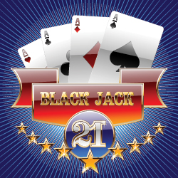 Blackjack spelkort 21