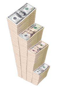 Miljoner pengar dollar